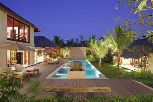 Bali Villa outside